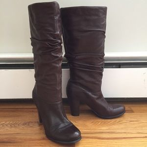 ecf4d4402aac Tall Brown Leather Boots - BP by Nordstrom Sz 9